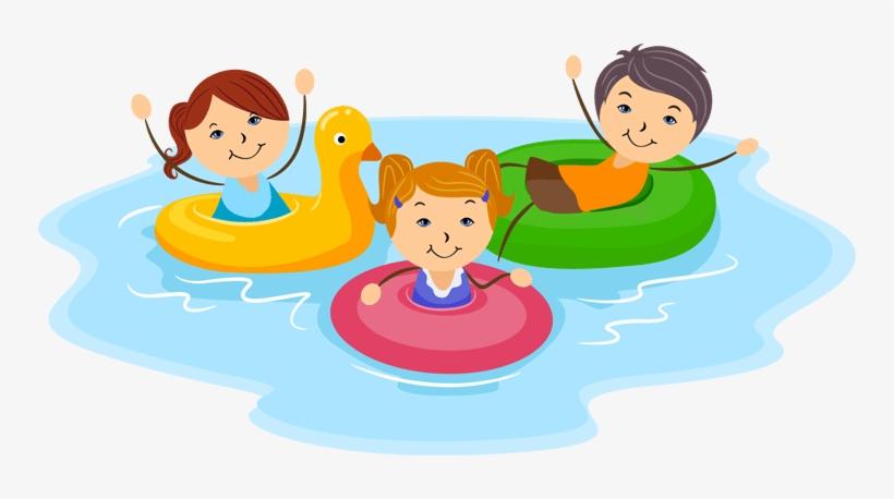 Family Clipart Swim.
