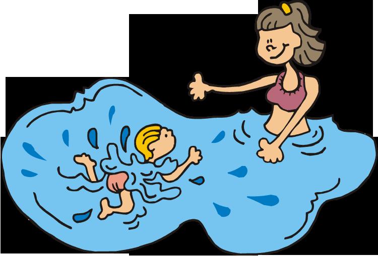 Clipart family swim, Clipart family swim Transparent FREE.