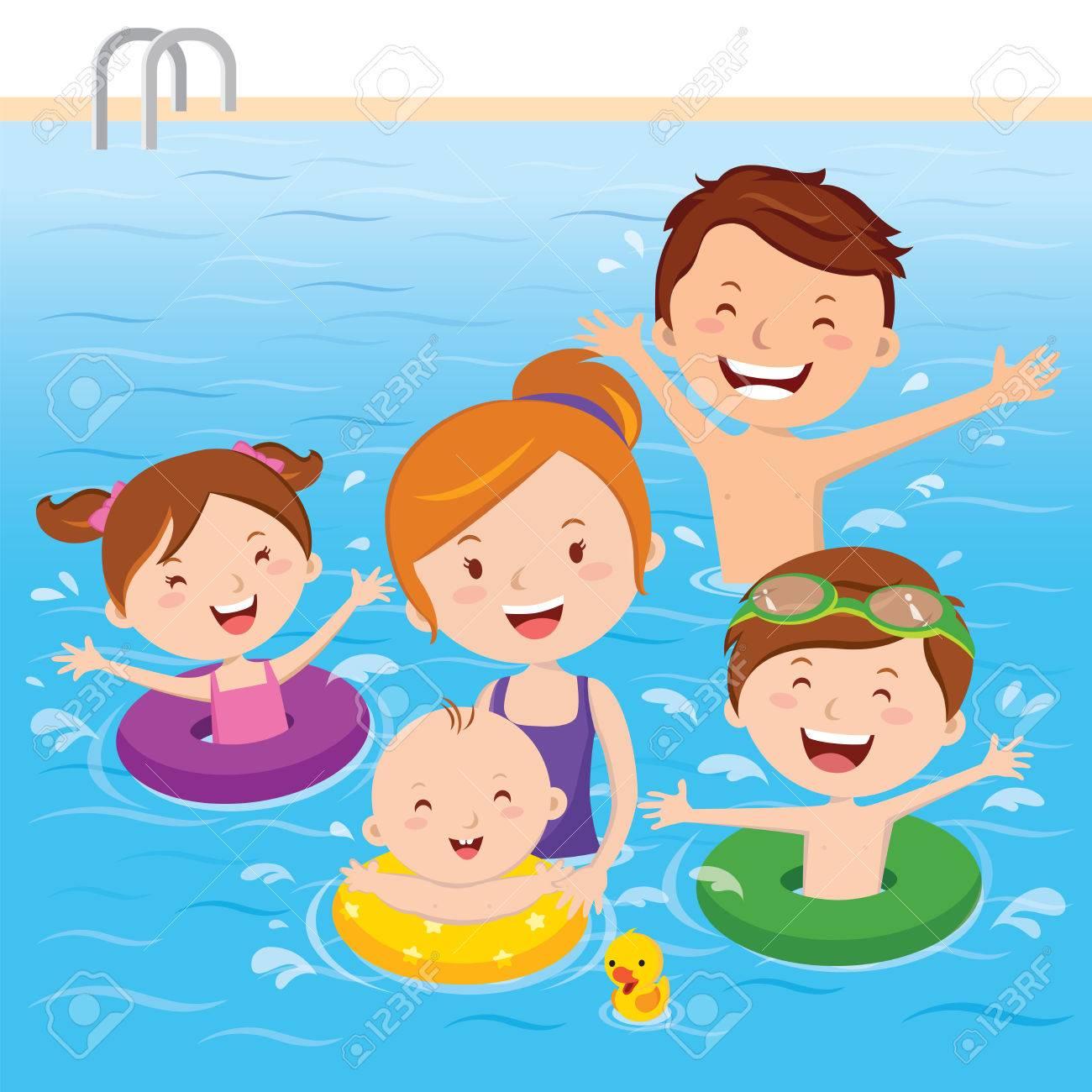 Swim clipart splash pool Transparent pictures on F.