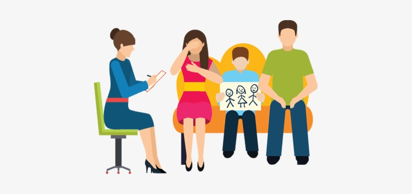 Family Counseling Clipart.