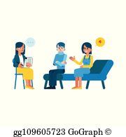 Family Counseling Clip Art.