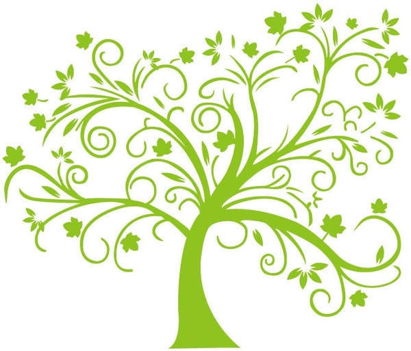Simple Family Tree Clipart Drawing Pictures Timber Vector.