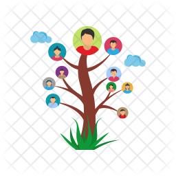 Family Tree Icon.