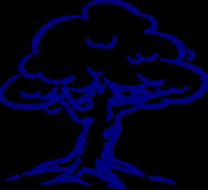Family Tree Blue Clip Art at Clker.com.
