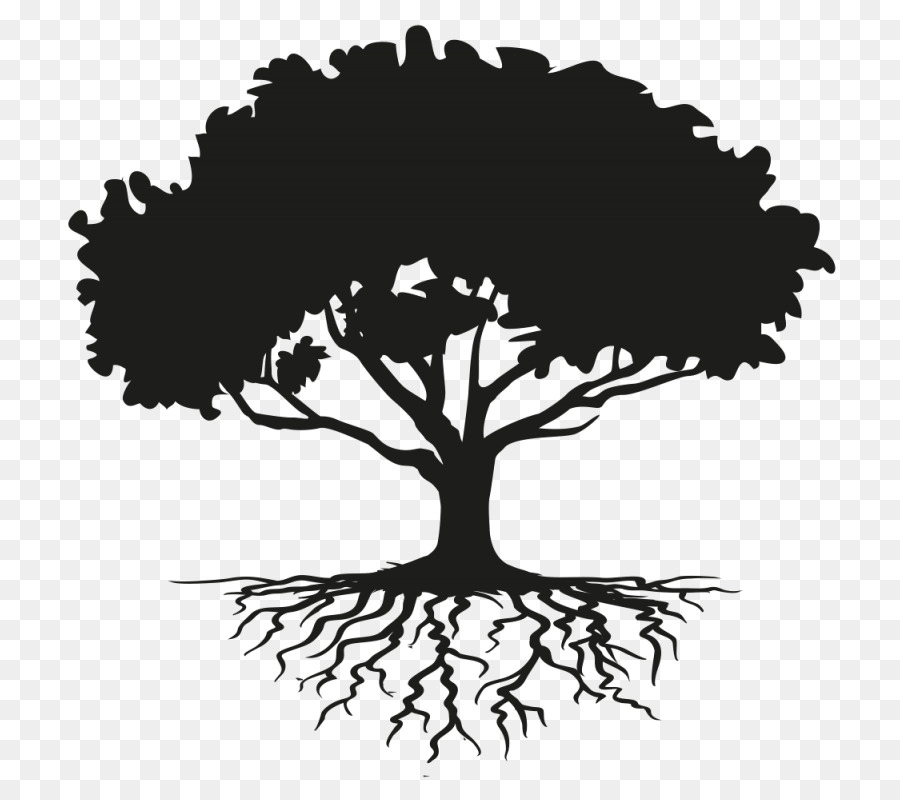 Family Tree Silhouette.