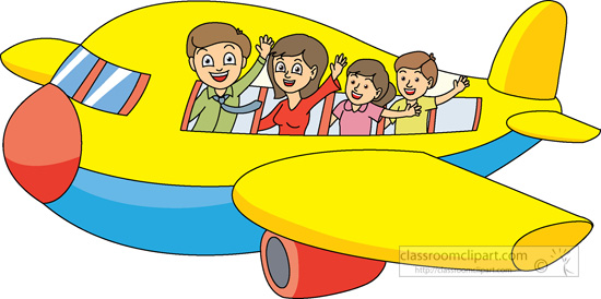 Family Travel Clipart.