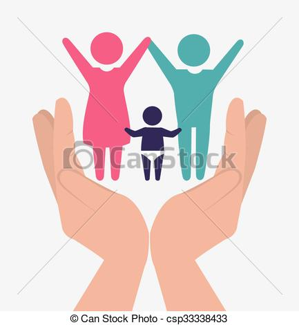 Family unity design.