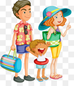 Download family on vacation clipart Vacation Travel Clip art.