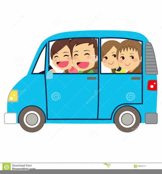 Minivan clipart van family, Minivan van family Transparent.
