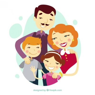 Family Vectors PNG.