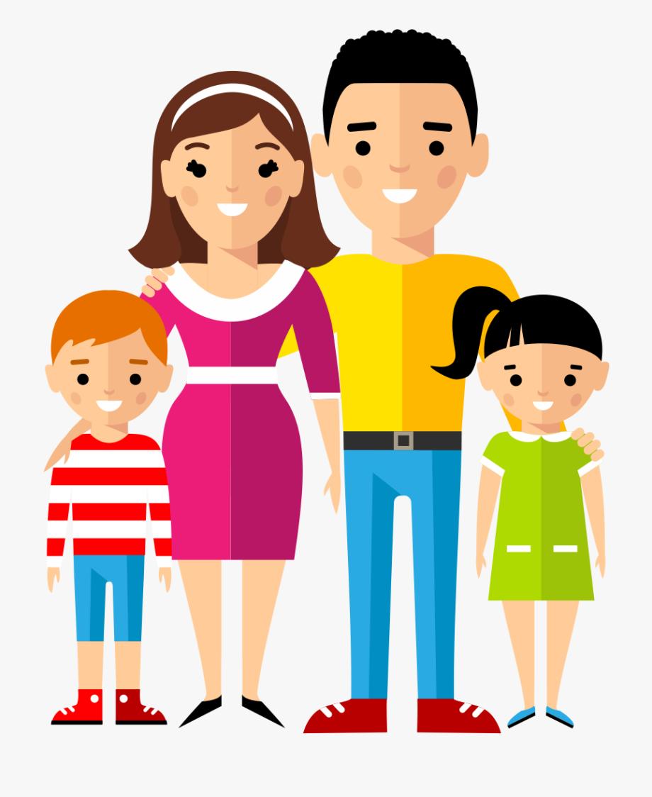 Son Clipart Family Walk.
