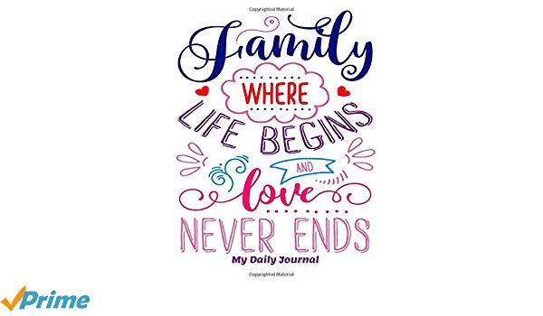Amazon.com: Family Where Life Begins and Love Never Ends My.