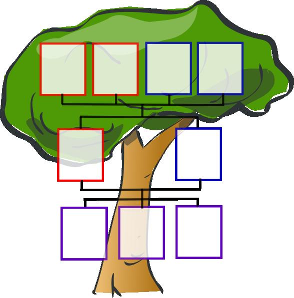 Totetude Family Tree Three Kids Clip Art at Clker.com.