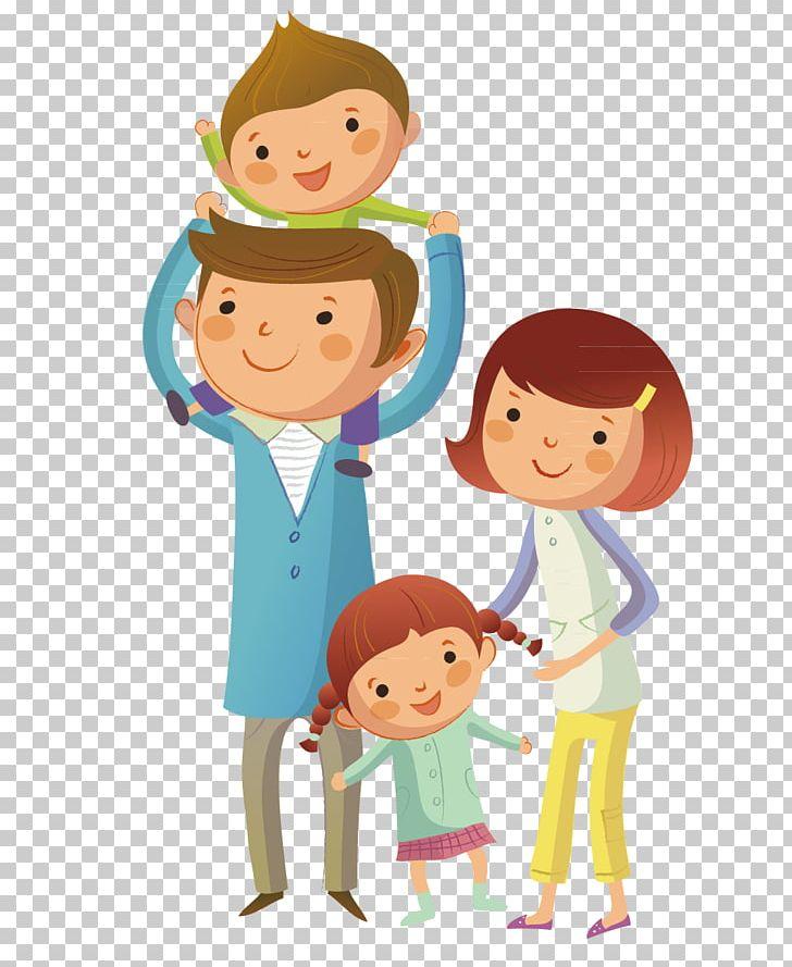 Family Child PNG, Clipart, Art, Boy, Cartoon, Conversation.