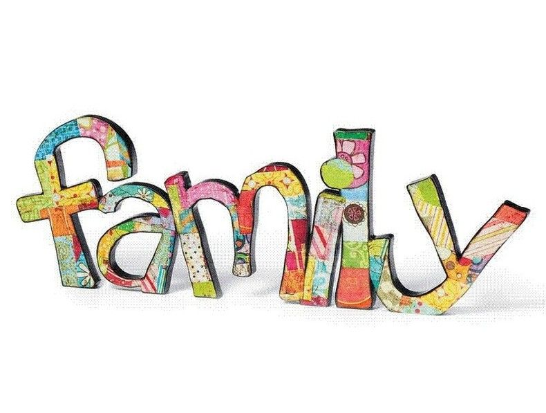 Family word clipart clipartfest.