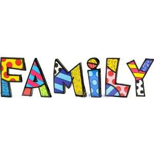 Family Word Art For Table..