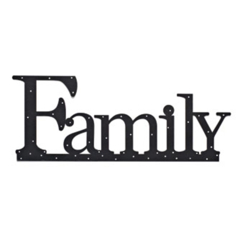Family Wall Word.