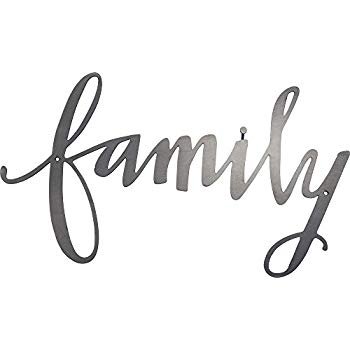 Amazon.com: Family Script Wood Sign Home Decor Wall Art.