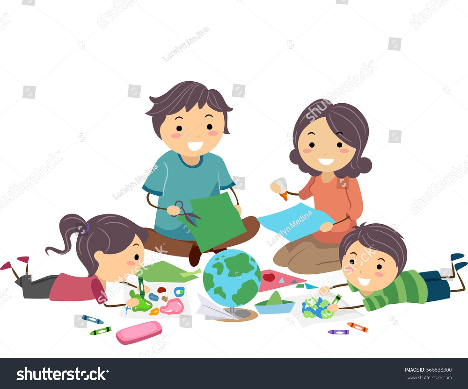 Family working together clipart 2 » Clipart Portal.