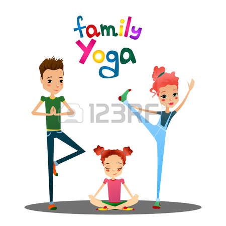 794 Couples Yoga Stock Vector Illustration And Royalty Free.