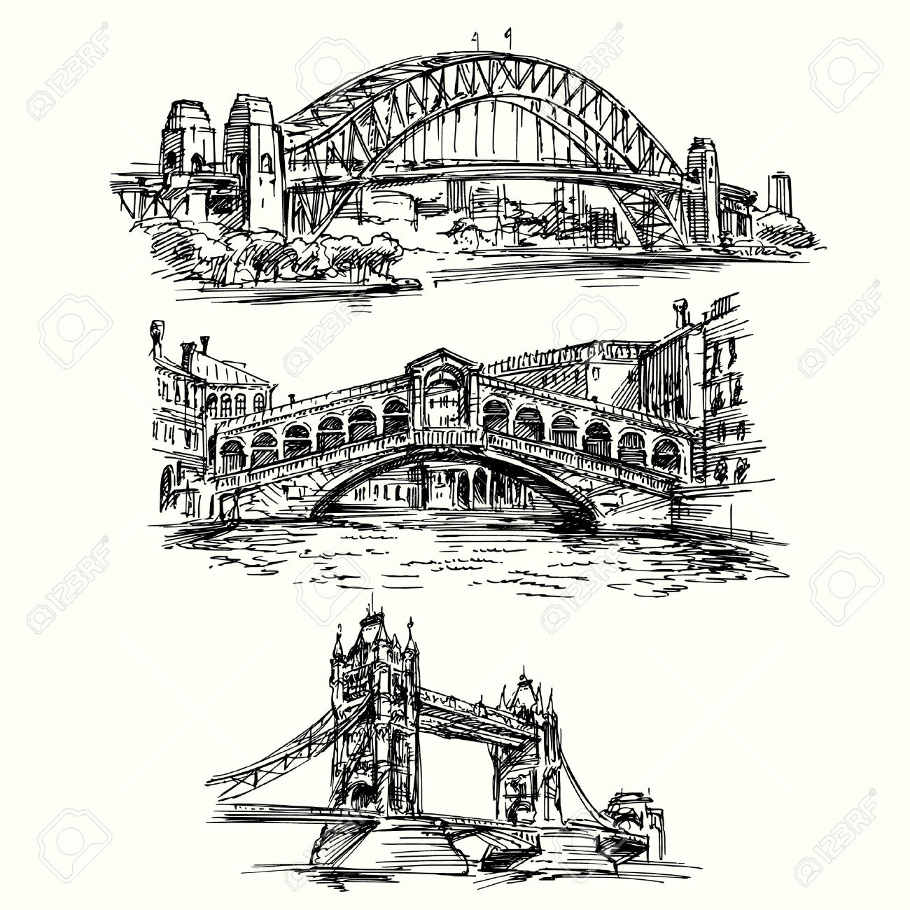 Famous Bridges.