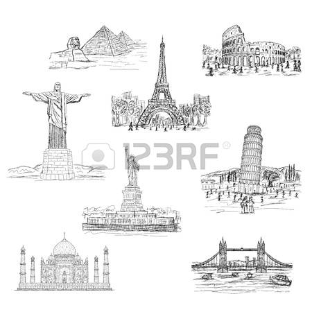 3,376 Famous Bridge Cliparts, Stock Vector And Royalty Free Famous.