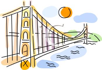 Famous Bridge in San Francisco.