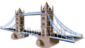 Famous Tower Bridge.