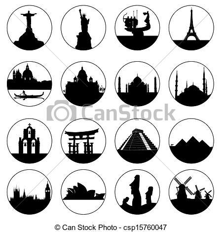 Famous places Illustrations and Clipart. 15,306 Famous places.