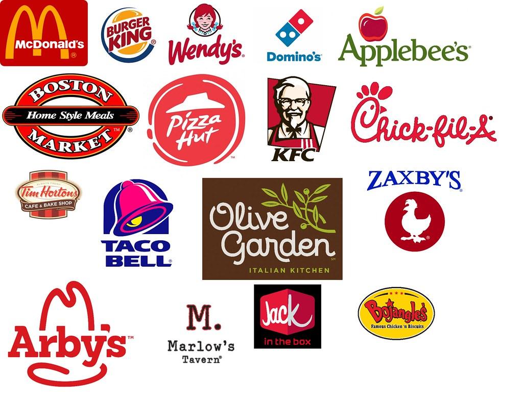 restaurant logos.