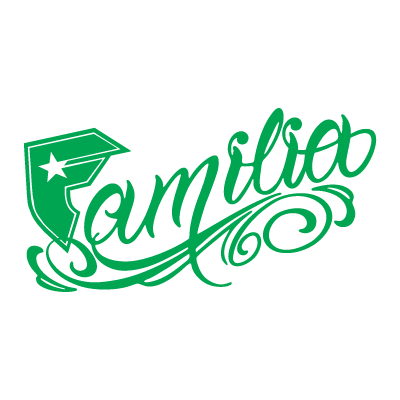 Familia Famous Famous Stars and Straps logo vector.