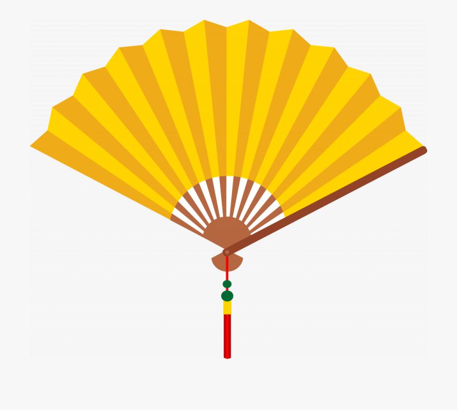 Japanese Fan Template.
