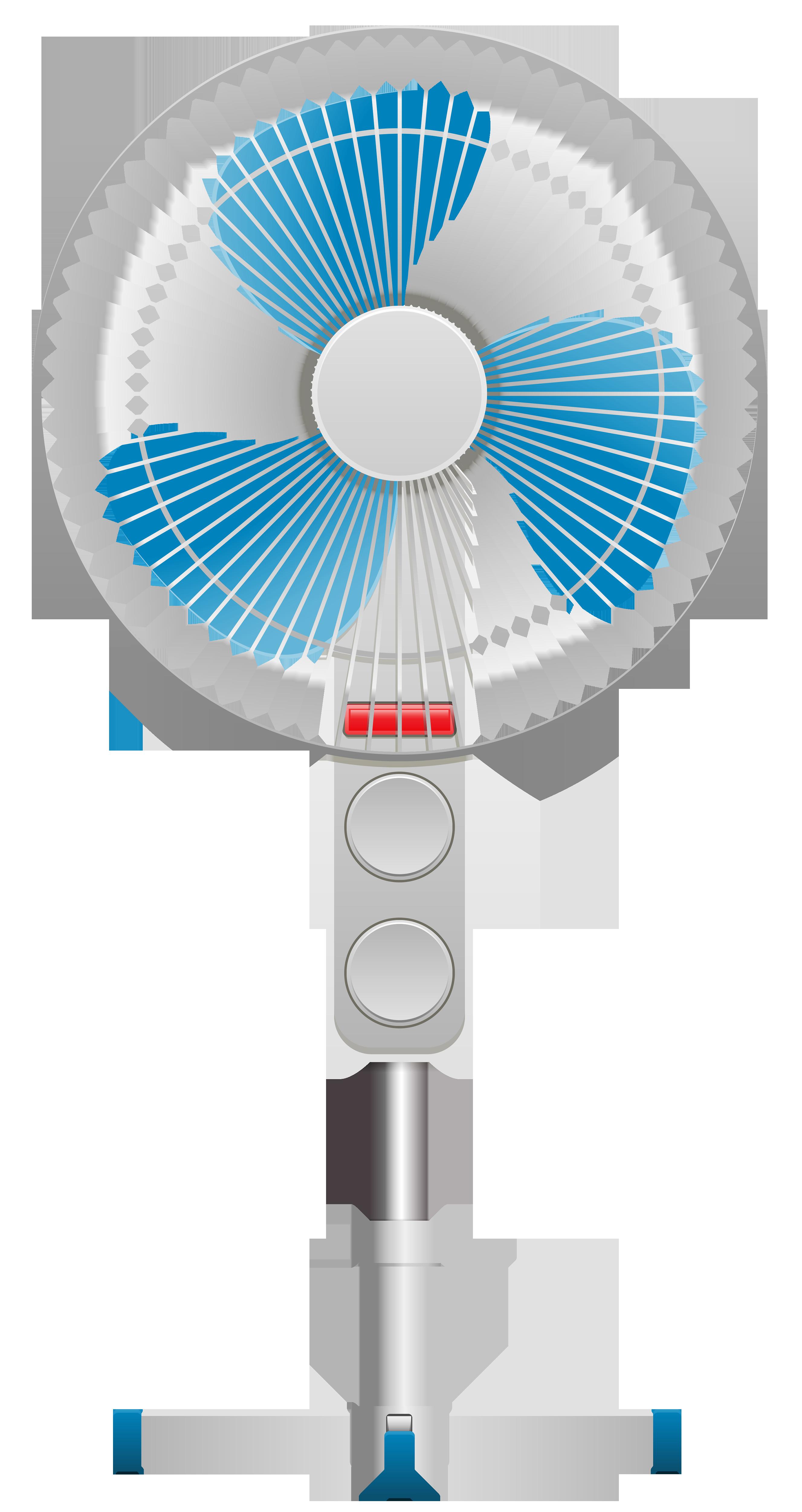 Pedestal Fan PNG Clip Art.