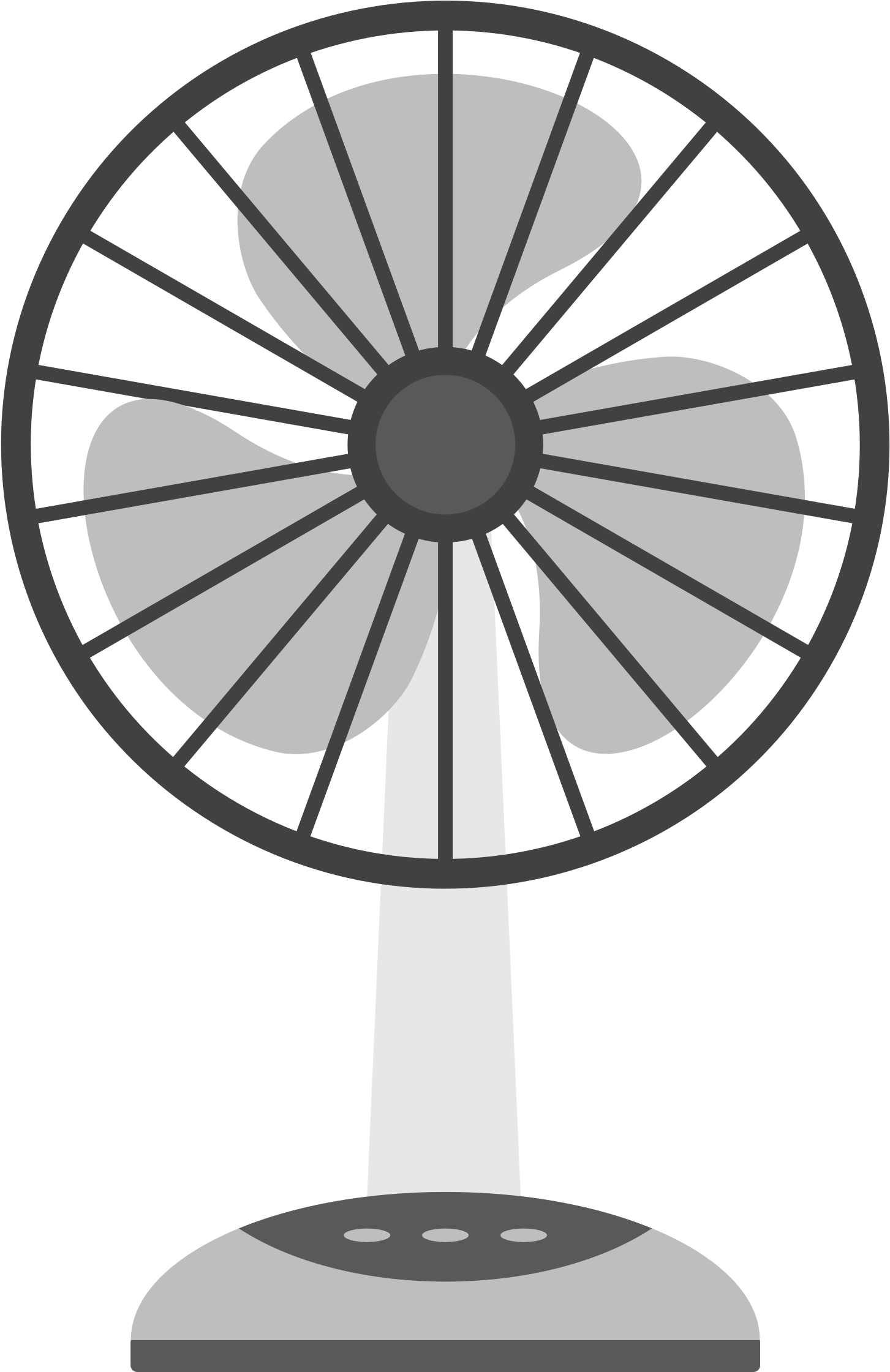 Free Of Electric Fan Vector Clipart.
