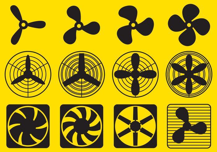 Ventilator Fan Vectors.