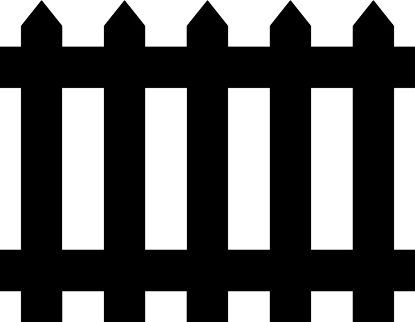 Fence clip art Free vector in Open office drawing svg ( .svg.