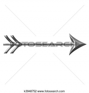 Curved Arrow Clip Art.