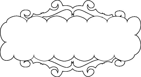 Fancy Banner Clipart.