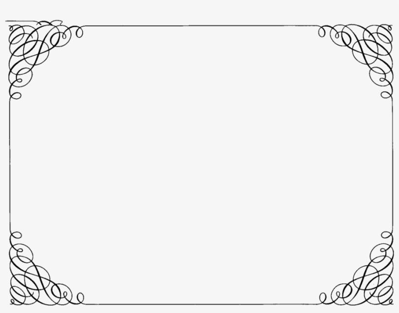 Pin Fancy Border Frame Clipart.