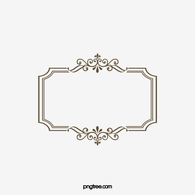 Fancy Borders Png, Vector, PSD, and Clipart With Transparent.