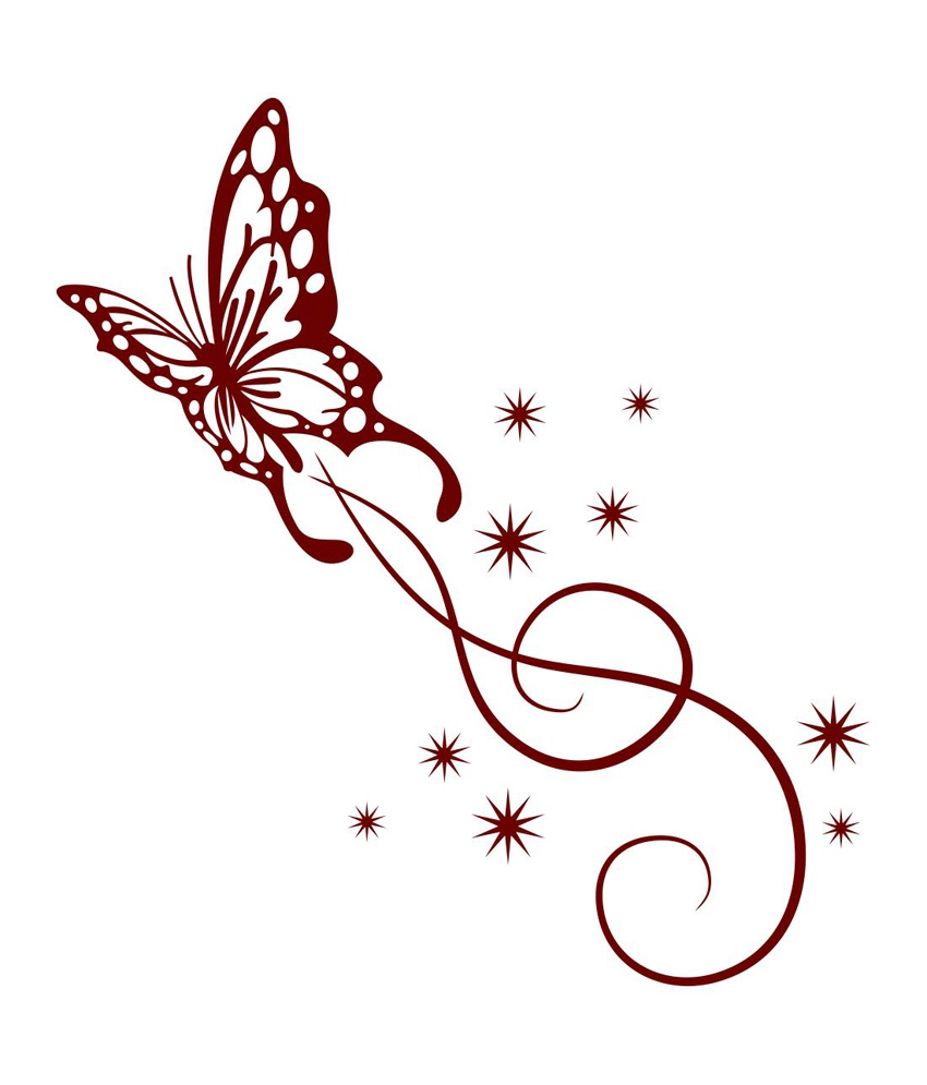 Fancy Butterfly Clipart Clipground