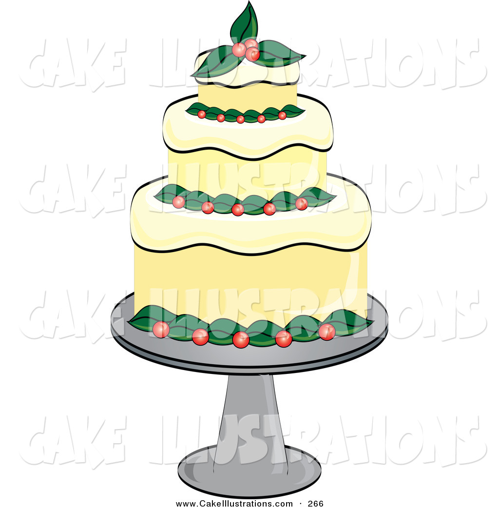 Fancy Cake Clipart.