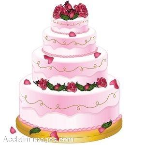 Fancy cake clipart.