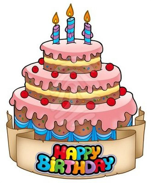 Unique Birthday Cake Animation happy birthday clip art animated.
