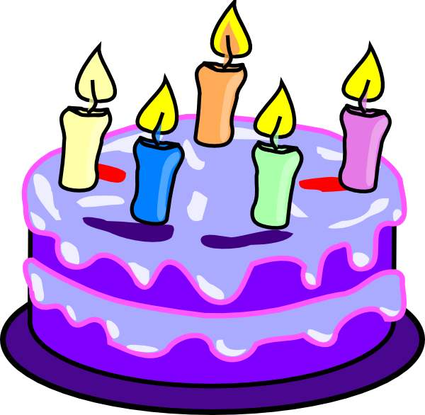 clipart of a birthday cake Clipground