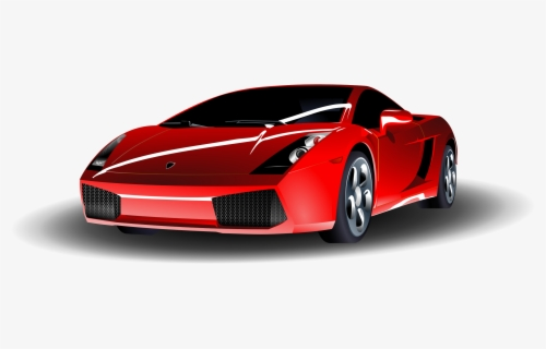 Free Red Car Clip Art with No Background.