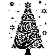 Showing post & media for Elegant christmas tree cartoon.