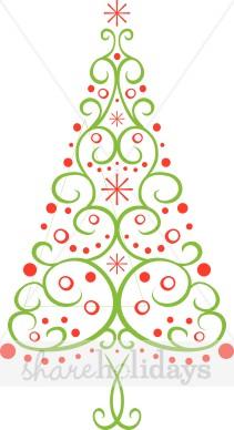 Fancy Christmas Clipart.