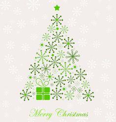 Fancy christmas tree clipart.