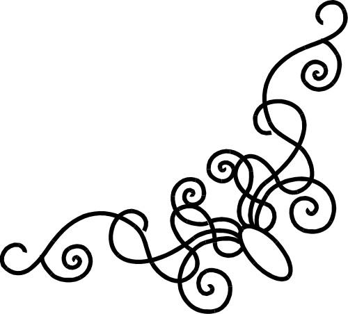 Fancy designs clip art.